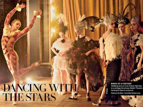 ABT Principal David Hallberg shot by Annie Leibovitz for Vogue's April 2013 Issue