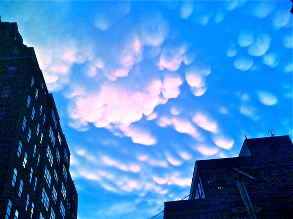 Photo: Me -- Sky from Chelsea Street Level