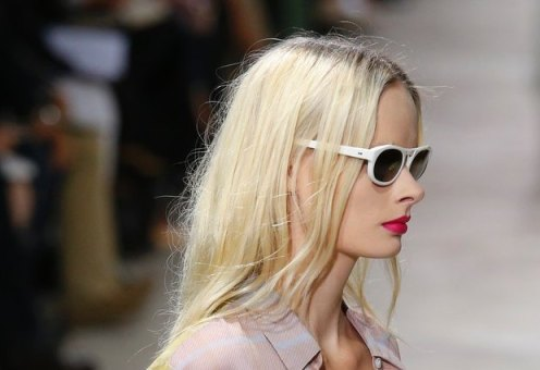 Photo: Yannis Vlamos via Go Runway for Style.com -- Image from Dries Van Noten's Grunge Inspired SS13 Collection