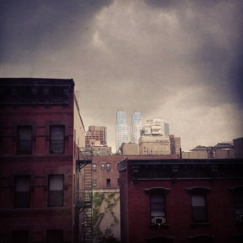 Photo: Josef TIto -- Grey Skies from A Hell's Kitchen WIndow